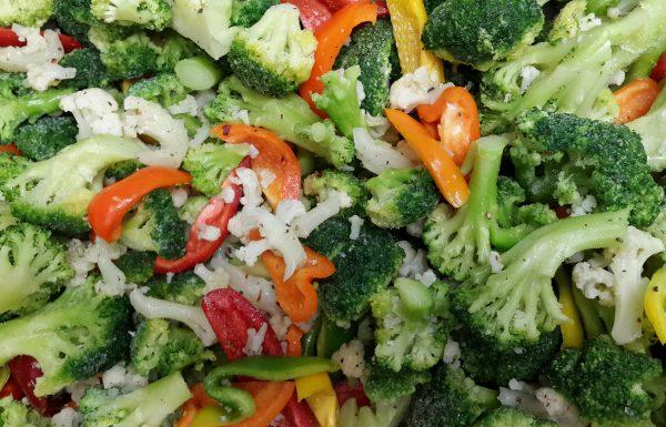 מתכון ברוקולי עם ירקות