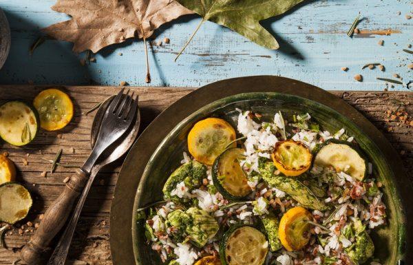 מתכון לתבשיל חזה עוף ופרגיות באורז צבעוני
