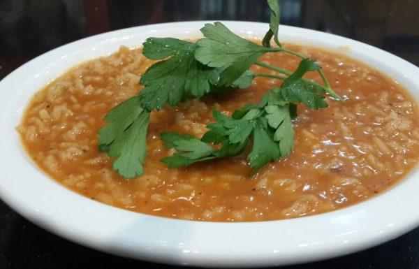 מתכון למרק עגבניות עם אורז